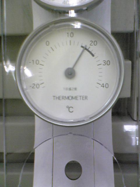 温度計7/6 18℃